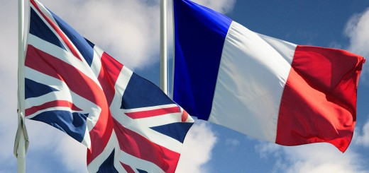 UK-French-Flags